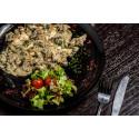 Куриное филе с грибами под соусом Горгонзола
