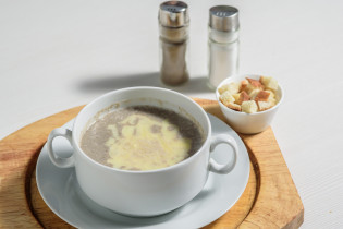 "Суп ""Крем суп из шапиньенов"""